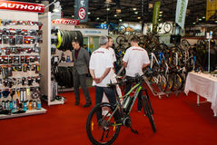 Motobike. International exhibition of motorcycles and bicycles.Ukraine Kiev March 11 2016 year Stock Photography