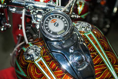 Motobike. International exhibition of motorcycles and bicycles.Ukraine Kiev March 11 2016 year Royalty Free Stock Image