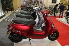 Motobike Istanbuł 2018 Obrazy Royalty Free