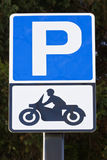 Motobike parking Stock Photos