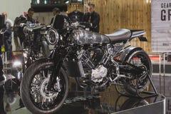 Motobike superiore di Brough a EICMA 2014 a Milano, Italia Immagini Stock