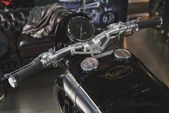 Motobike superiore di Brough a EICMA 2014 a Milano, Italia Fotografie Stock Libere da Diritti
