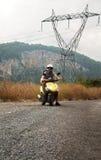 Motobiker Royalty Free Stock Photos