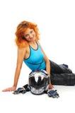 Motobiker Lizenzfreies Stockbild