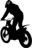 Motobiker Stock Photography