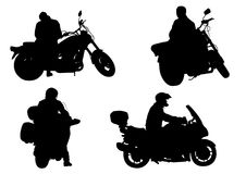 Motobikers Royalty Free Stock Photography