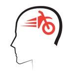 Motobycle avec la liberté illustration de vecteur