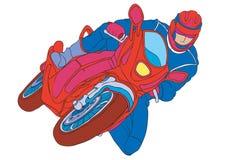 Motocicleta ilustração stock