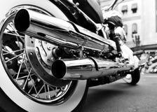 Motocicleta Fotografía de archivo libre de regalías