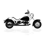 Motocicleta Foto de archivo libre de regalías