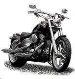 Motocicleta ilustração royalty free