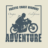 Motocicleta Abel do vintage Imagens de Stock Royalty Free