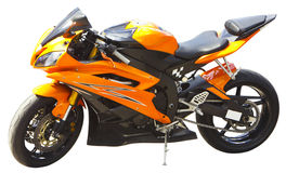 Motocicleta aislada Imagen de archivo