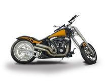Motocicleta americana feita sob encomenda fotografia de stock