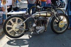 Motocicleta antiga Fotos de Stock Royalty Free