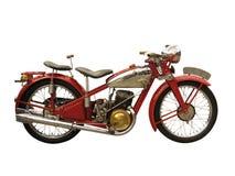 Motocicleta antigua Fotos de archivo libres de regalías