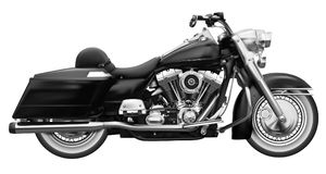 Motocicleta clásica del vintage Ejemplo realista arriba detallado Fotos de archivo libres de regalías