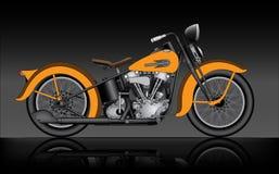 Motocicleta clássica Fotos de Stock Royalty Free
