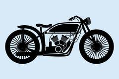 Motocicleta clássica Imagem de Stock Royalty Free