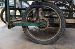 Motocicleta com side-car imagem de stock royalty free
