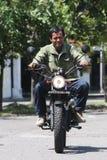 Motocicleta da alteração Imagem de Stock Royalty Free