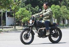 Motocicleta da alteração Fotografia de Stock