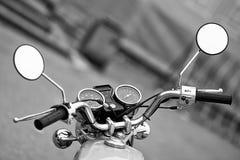 Motocicleta da roda Fotografia de Stock Royalty Free