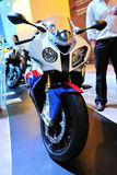 Motocicleta de BMW RR S1000 Imágenes de archivo libres de regalías