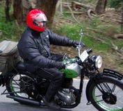 Motocicleta de BSA Fotografía de archivo