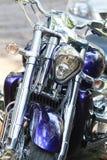 Motocicleta de Chrome Imágenes de archivo libres de regalías