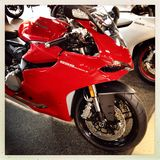 Motocicleta de Ducati 899 Fotografia de Stock