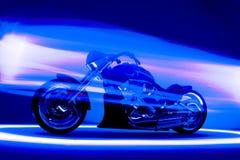 Motocicleta de encargo Foto de archivo libre de regalías