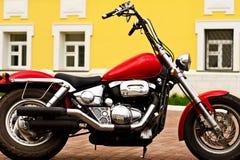 Motocicleta de gran alcance Fotos de archivo libres de regalías