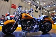 Motocicleta de Harley Davidson Foto de archivo libre de regalías