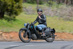 Motocicleta 1926 de Harley Davidson B Fotografia de Stock Royalty Free