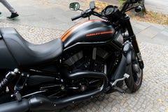 Motocicleta de Harley Davidson foto de stock royalty free