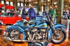Motocicleta de Harley Davidson del americano de los años 30 del vintage Foto de archivo libre de regalías