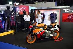 Motocicleta de Honda CBR1000RR en Bangkok Tailandia internacional Mot imagen de archivo libre de regalías