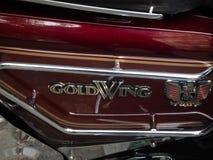 Motocicleta de Honda Gold Wing GL1100 foto de archivo libre de regalías