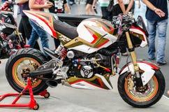 Motocicleta de Honda MSX adentro fotografía de archivo libre de regalías