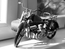 Motocicleta de la chapa imagen de archivo libre de regalías