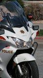 Motocicleta de la policía Foto de archivo