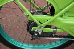 Motocicleta de la rueda Fotografía de archivo libre de regalías