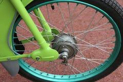 Motocicleta de la rueda Fotografía de archivo