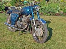 Motocicleta de la vendimia Fotografía de archivo libre de regalías