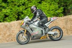Motocicleta de Norton fotografia de stock