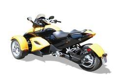Motocicleta de tres ruedas   Fotos de archivo