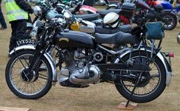 Motocicleta de Vincent imagem de stock