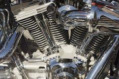 Motocicleta del águila del grito Fotos de archivo libres de regalías