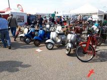 Motocicleta 2017 del coche del motori de Módena foto de archivo